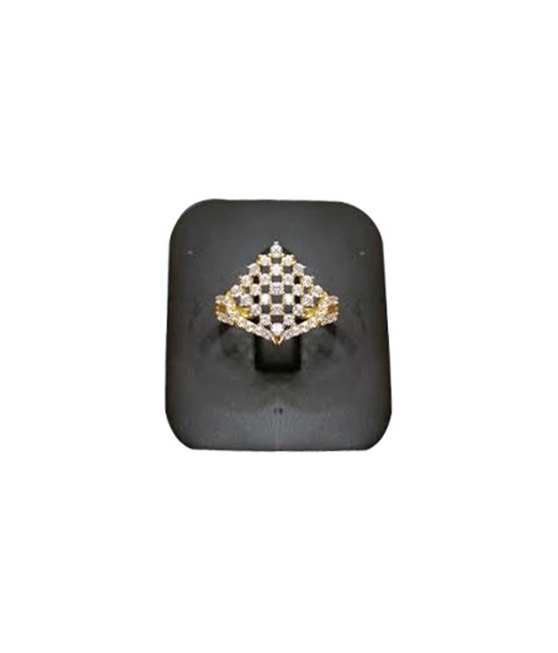 Ganesh Jewellers 18KT Gold Ring