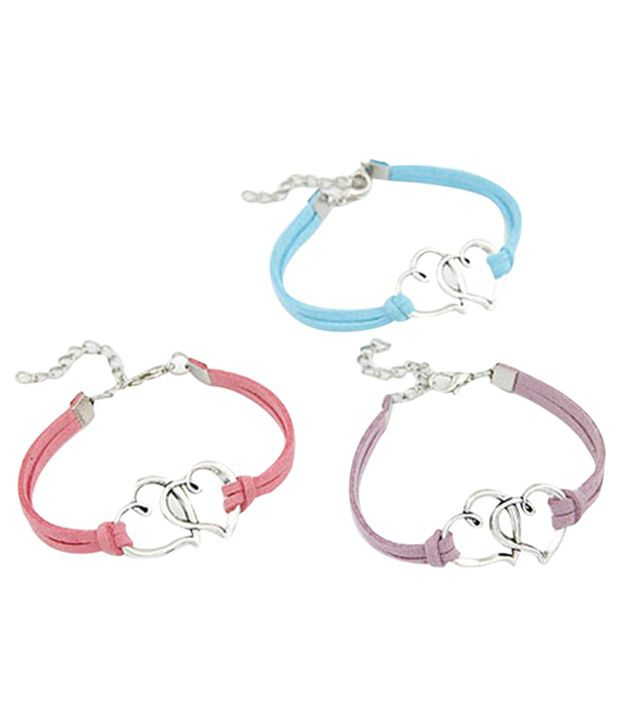 Young & Forever Pink & Silver Bracelet For Women