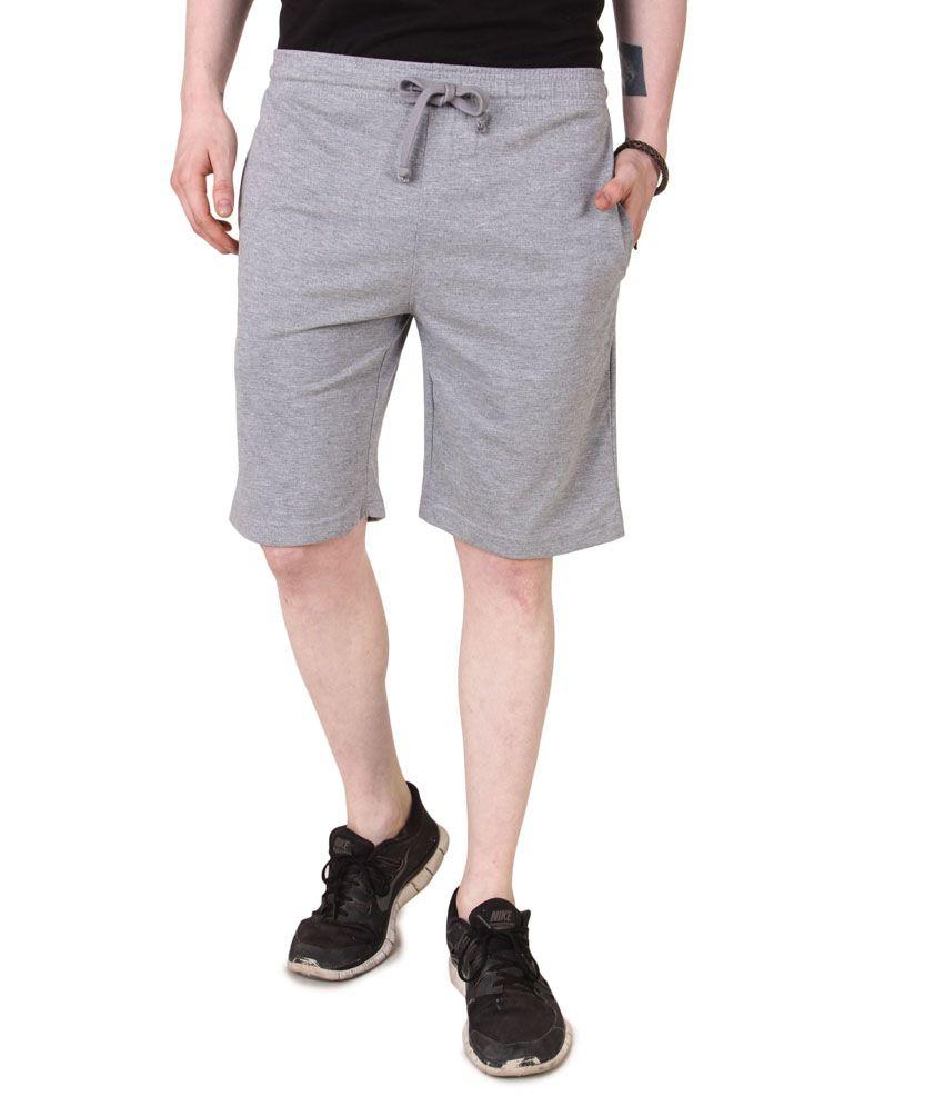 Aventura Outfitters Men's Jersey Shorts Grey Melange