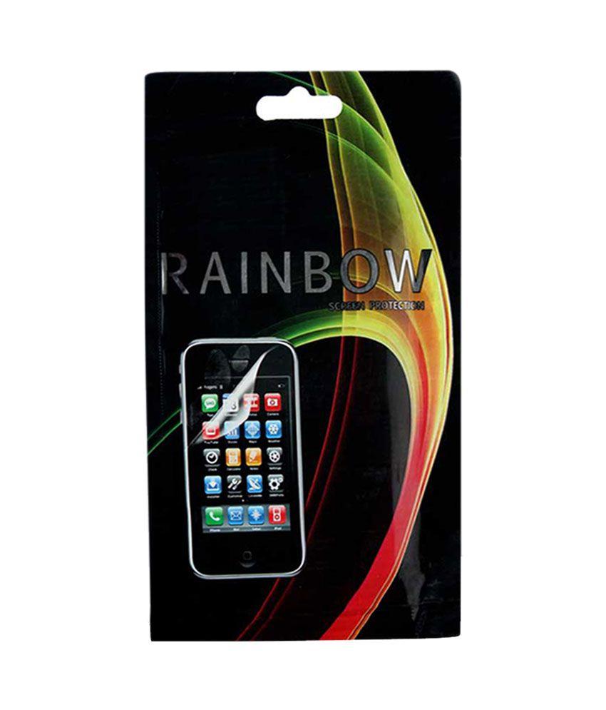 Deals Rainbow Screen Guard For Panasonic Eluga S Selfie