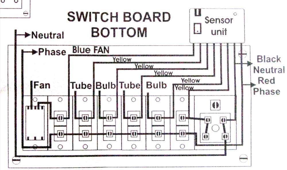 Wiring_Diagram_closeup 72cd5 buy neon gate switch remote control system for 5 lights 1 fan lighting control system wiring diagram at arjmand.co