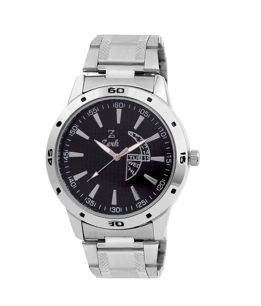 Zerk Silver Men Watch