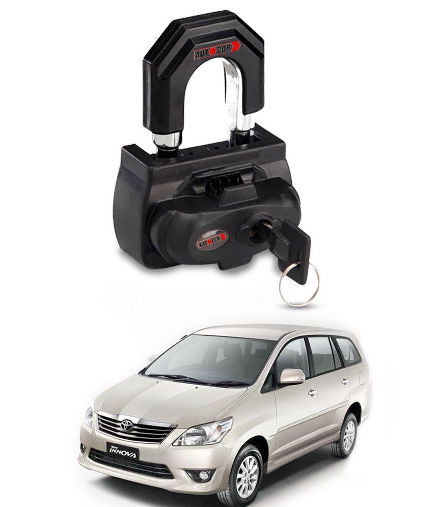Gaadikart Autocop U Type Car Gear Lock For Toyota Innova Buy