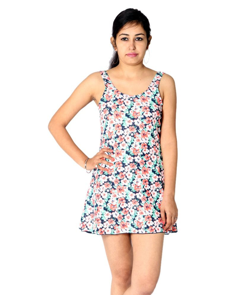 Indraprastha Floral Print Swimsuit/ Swimming Costume