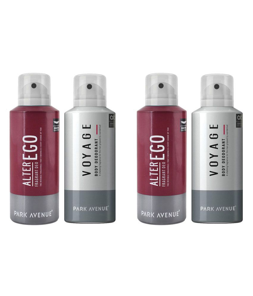 Park Avenue Combo Of Alter Ego And Voyage Deodorants - Each...