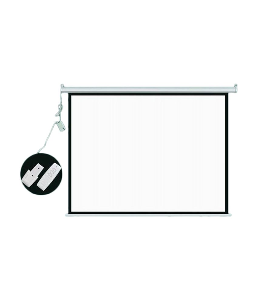 worksheet 8 Ft In Inches buy technolite motorised projector screen size 10 ft x 8 150 inches dia 43 ratio in imported high gain fabric