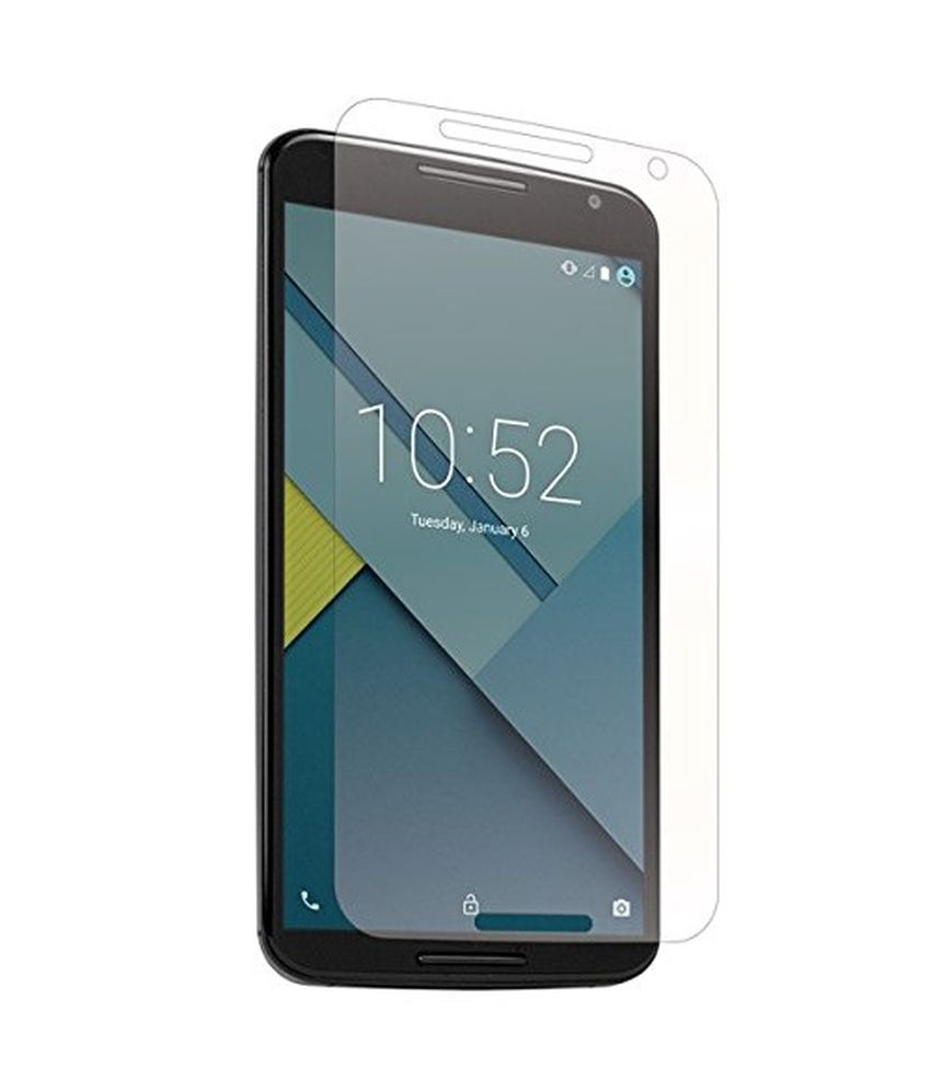 LG Google Nexus 6 Clear Screen Guard by M-Zone