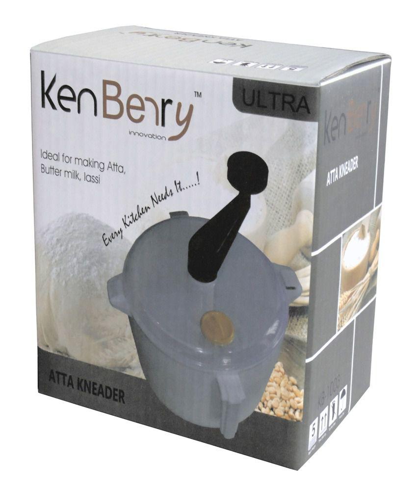 KenBerry KB-1003 Dough Maker Atta Kneader: Buy Online at ...