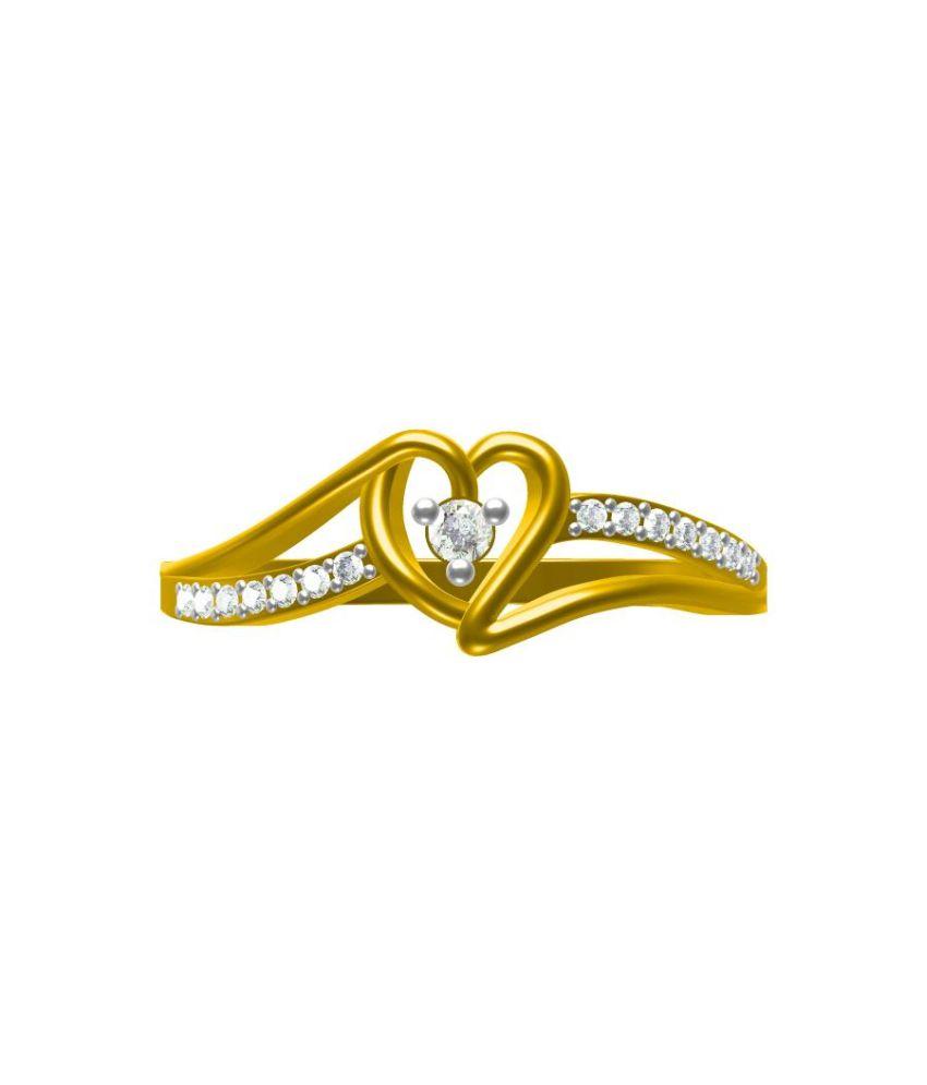 Sakshi Jewels 18Kt Gold Engagement Ring