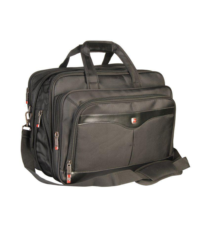 Sonada Black Laptop Bag