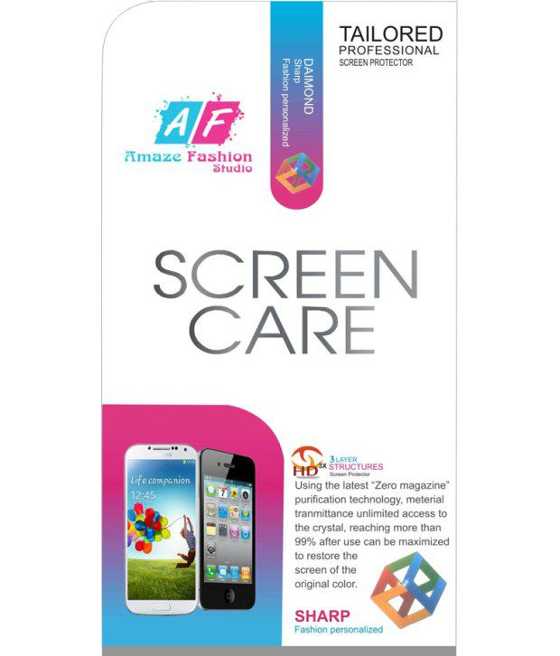 Karbonn A19 Screen Guard by Amaze Fashion Studio
