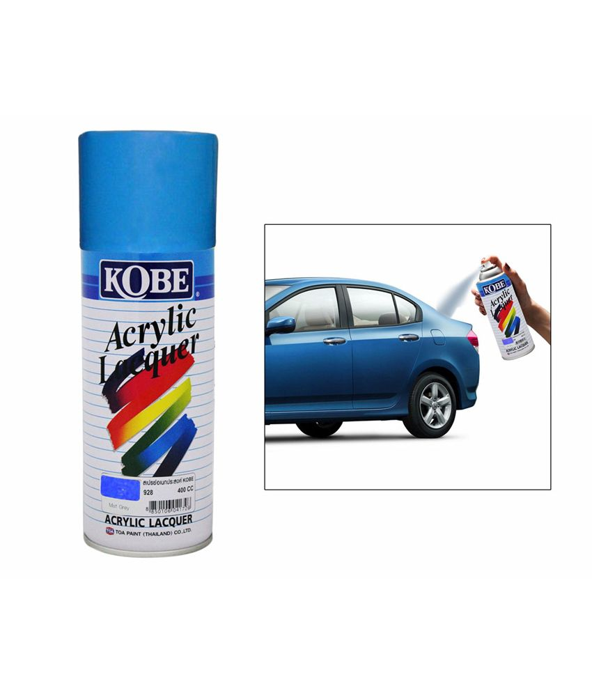Kobe Car Touchup Spray Paint 400ml Deep Blue Hyundai Accent Buy Kobe Car Touchup Spray Paint