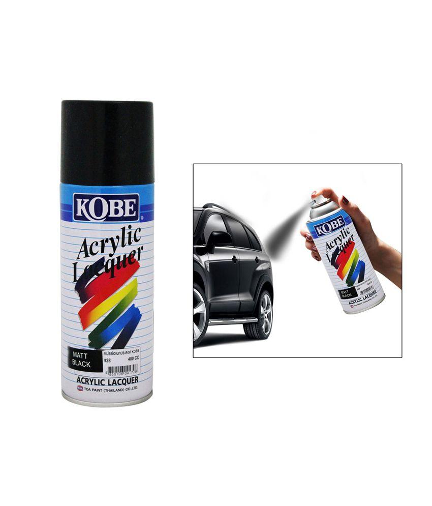 kobe car touchup spray paint 400ml gloss black hm. Black Bedroom Furniture Sets. Home Design Ideas