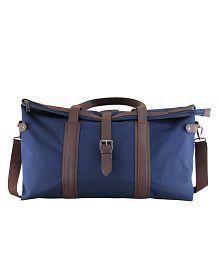 Mohawk Blue Solid Duffle Bag