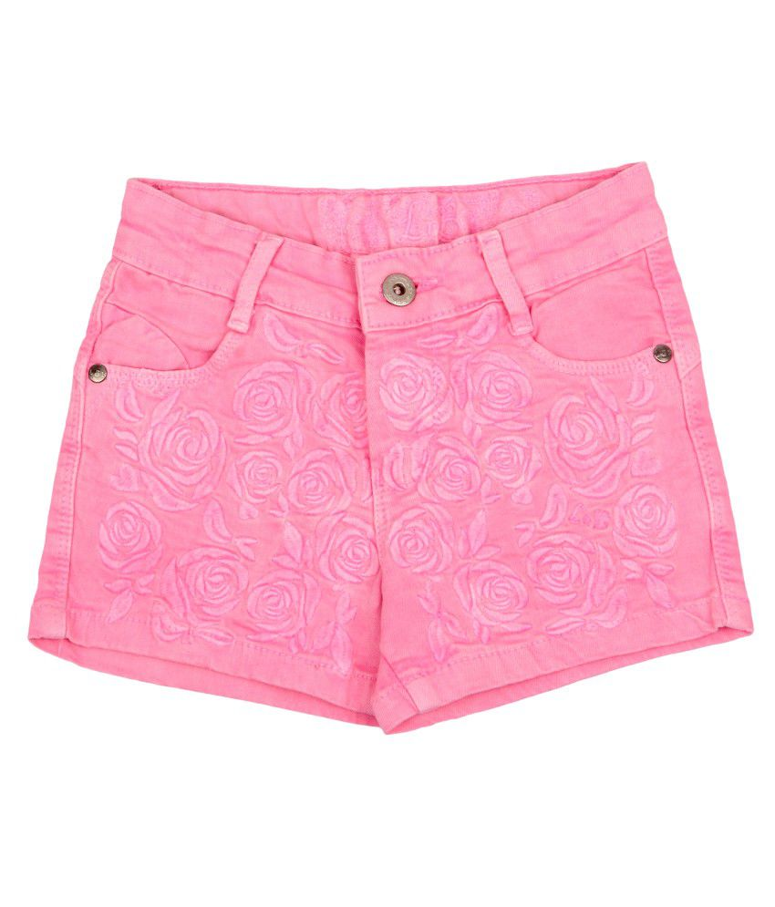 Leo n Babes Pink Cotton Short