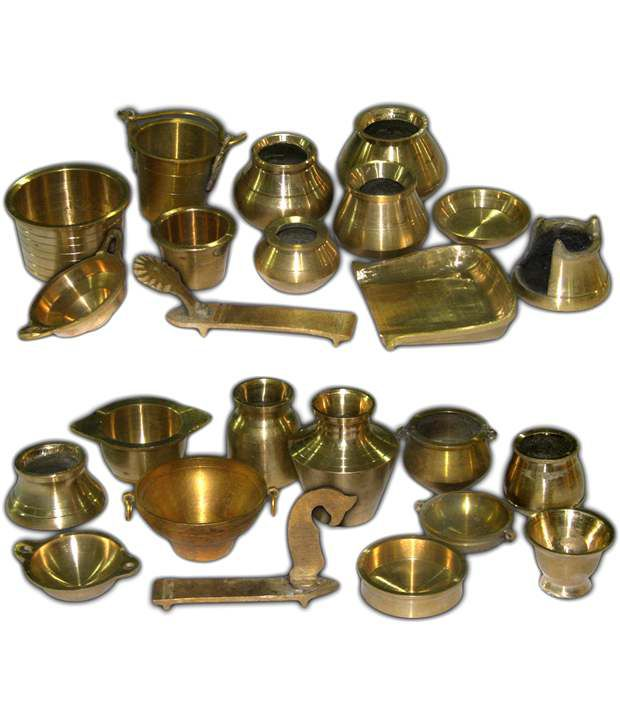 Ramsons Solid Brass Miniature Kitchen Utensils Set 1 2 Buy