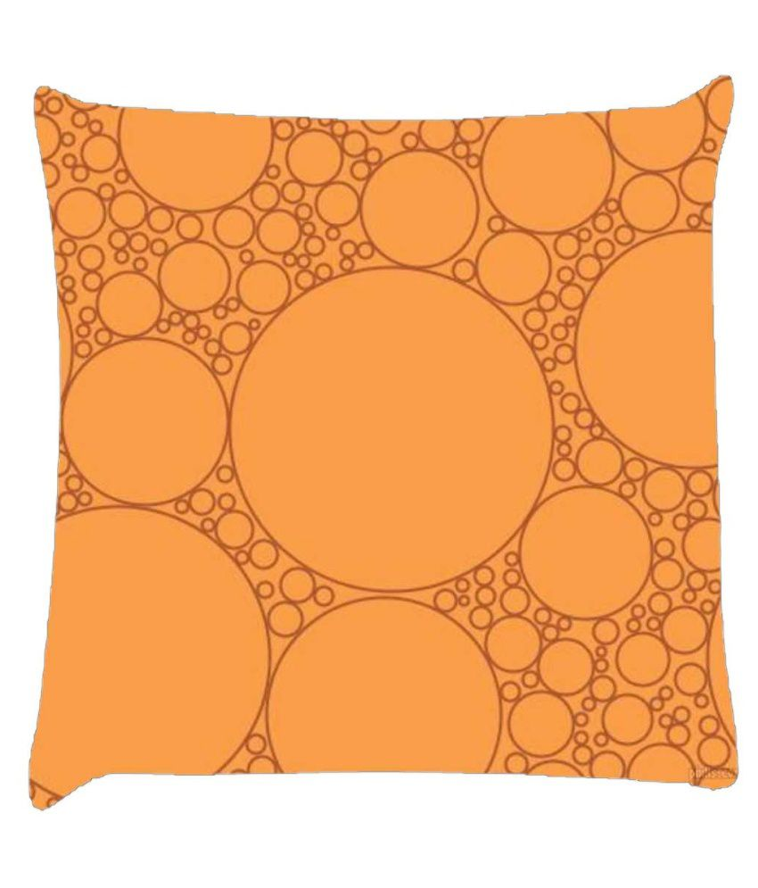 Snoogg Bubbles Pattern Design 2206 Cushion Cover