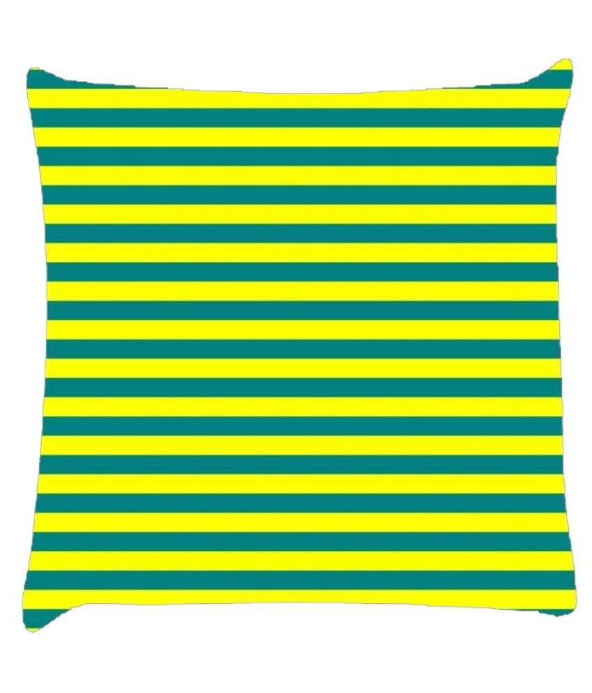 Snoogg Horizontal Lining Pattern Design 1858 Cushion Cover