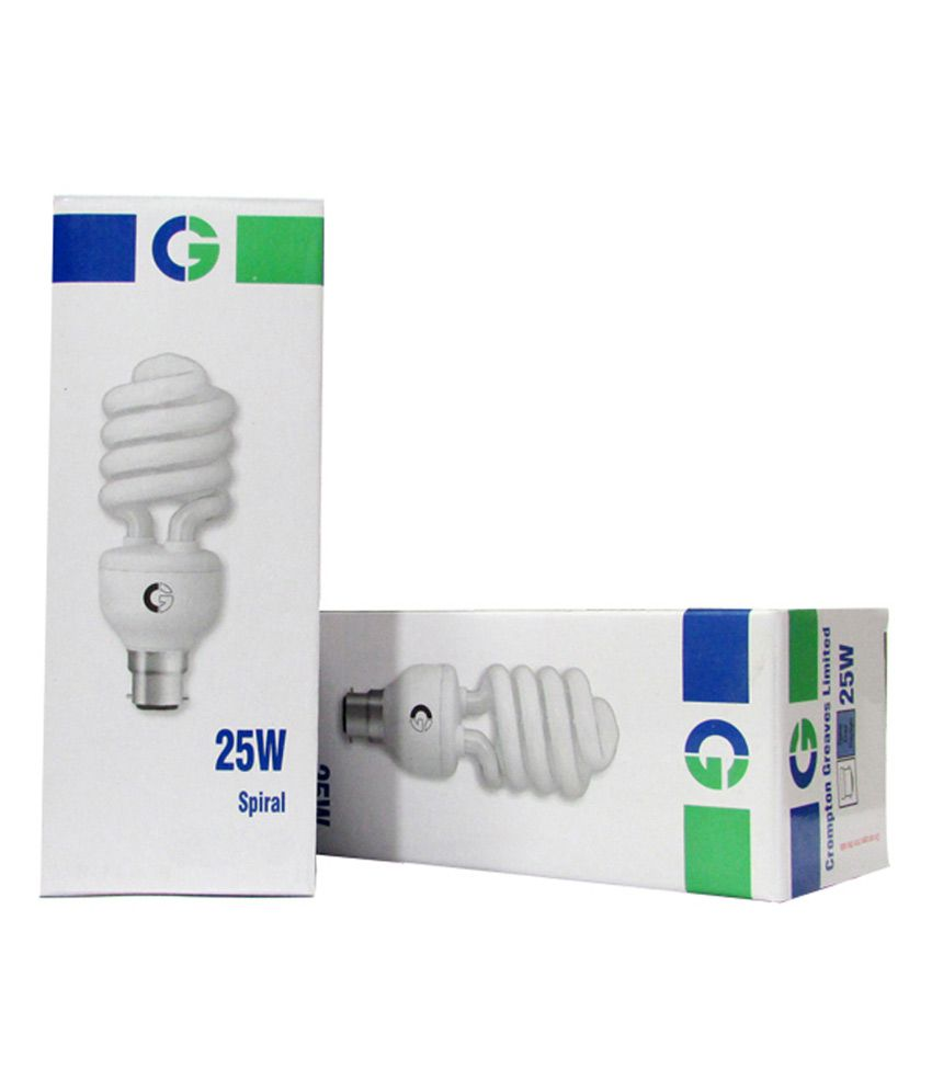 Crompton 25 Watt Warm White CFL Spiral