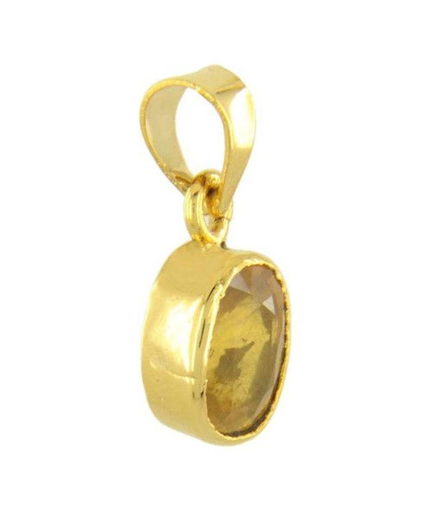 sobhagya yellow sapphire pendant buy sobhagya