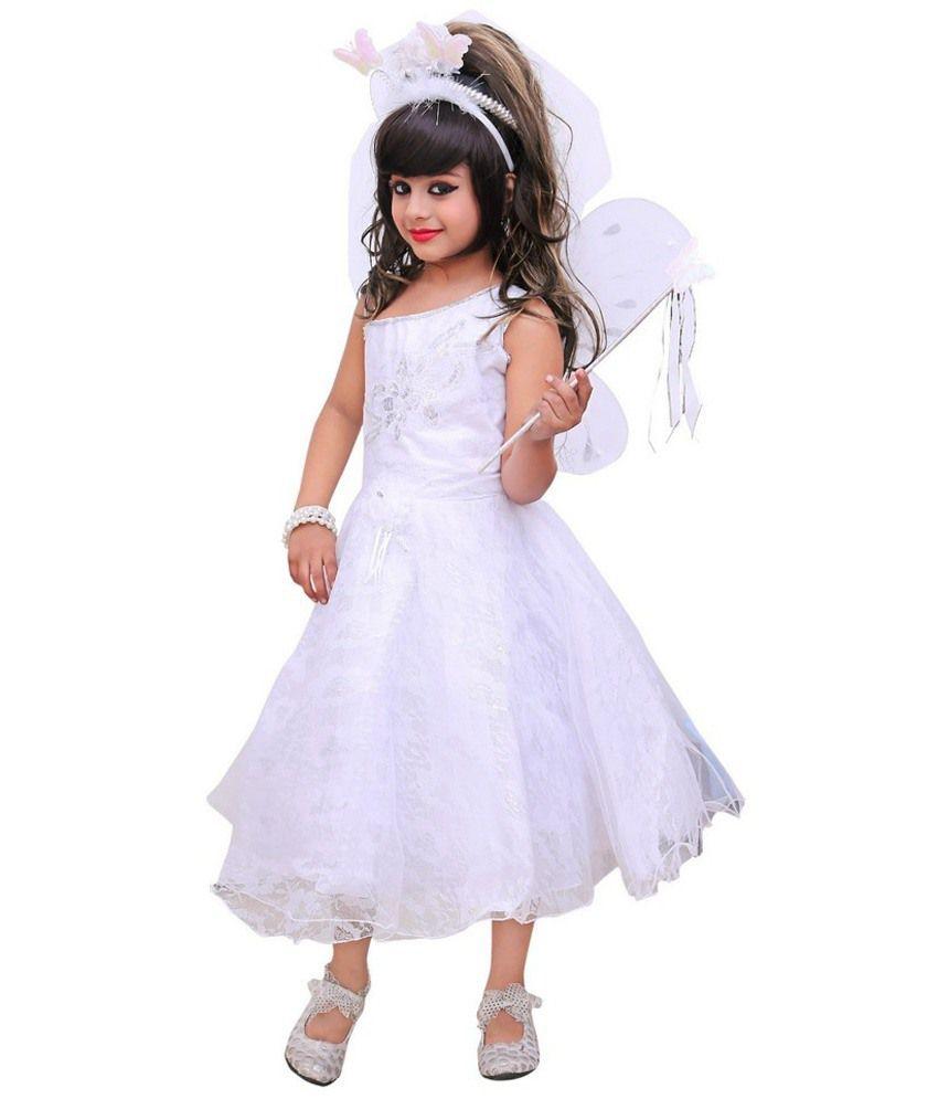 Aarika White Christmas Angel Gown - Buy Aarika White Christmas Angel ...