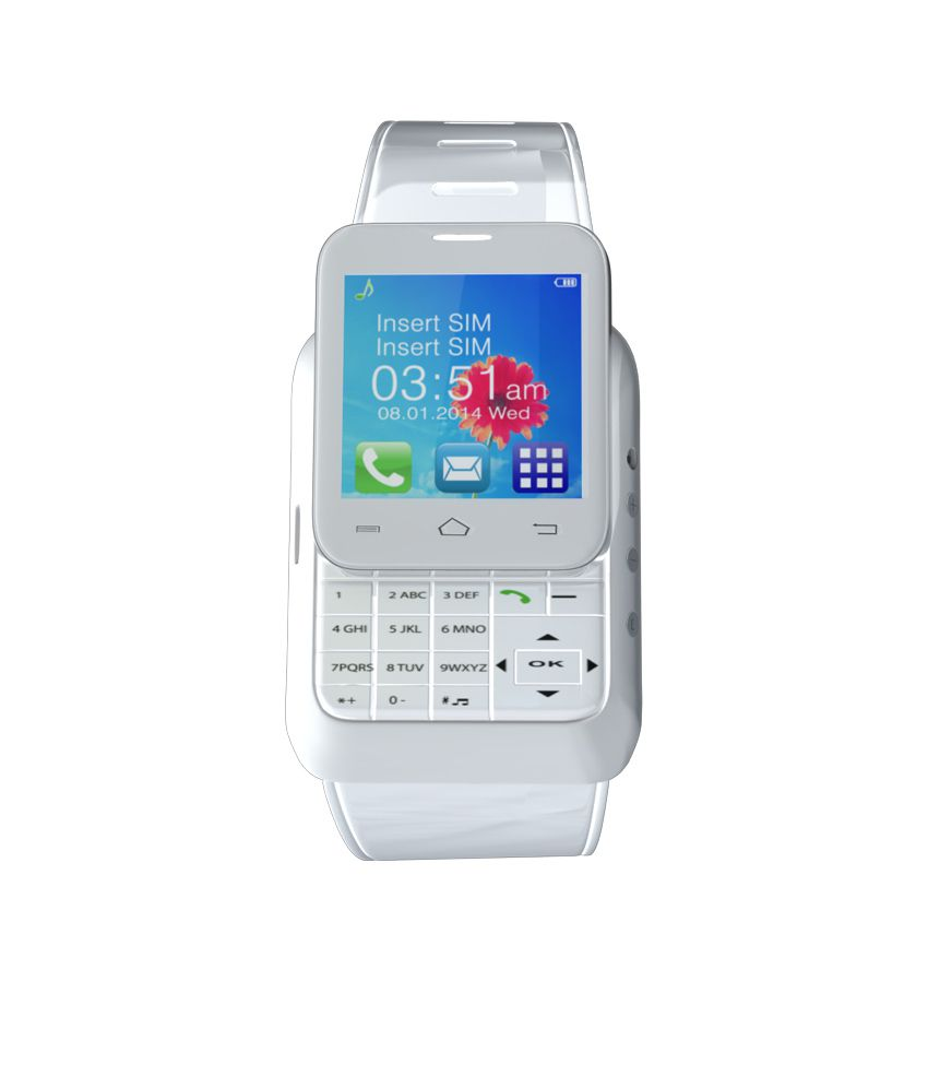 8890a6a98816e7 Anand India With keypad Smart Watches White - Wearable & Smartwatches  Online at Low Prices   Snapdeal India
