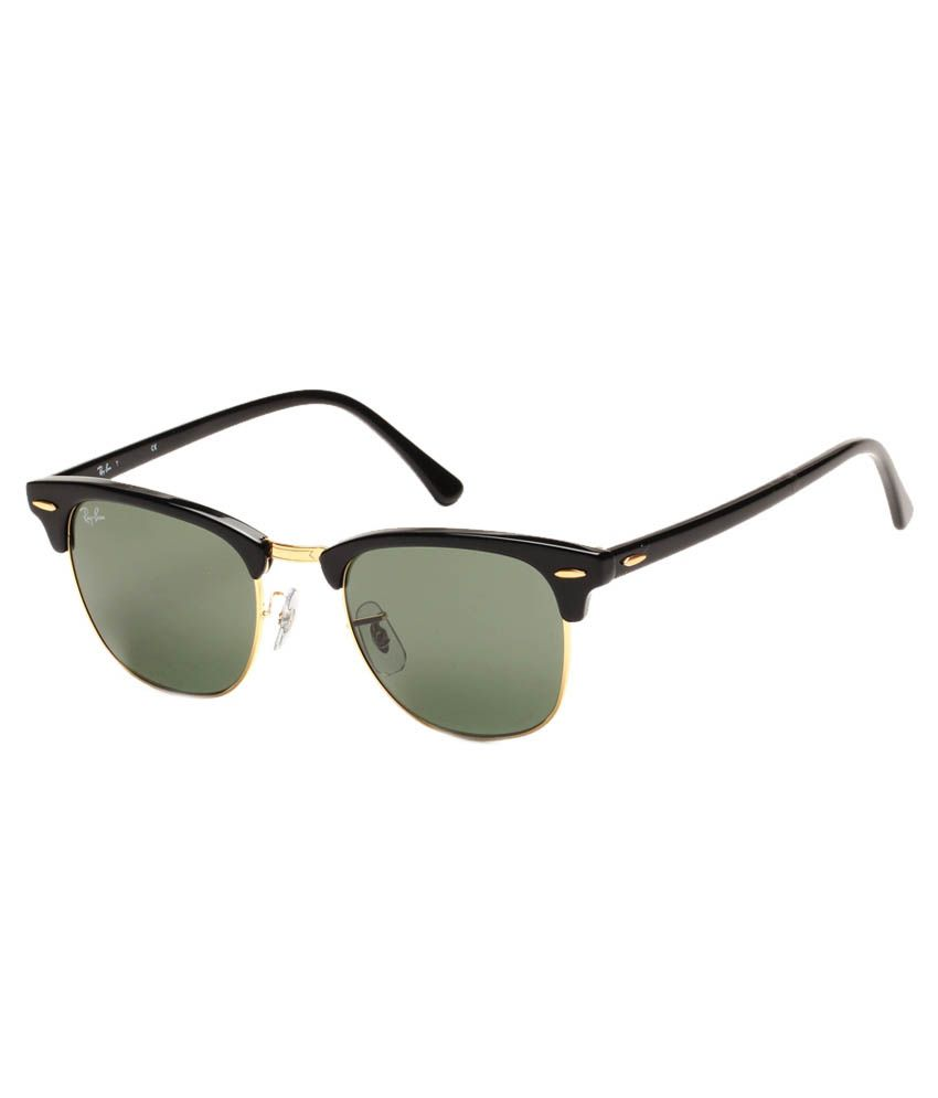 rb3016 sunglasses  Ray-Ban Green Clubmaster Sunglasses (RB3016 W0365 51-21) - Buy Ray ...