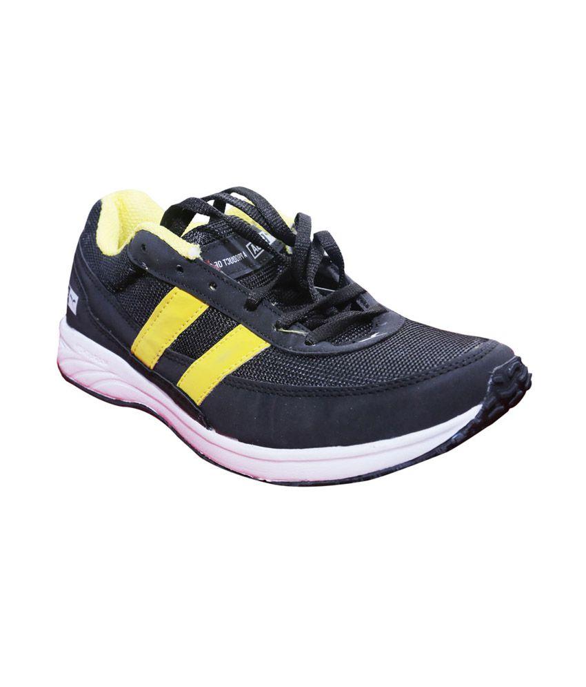 Sega Marathon EVA Running Shoes for Men - Black