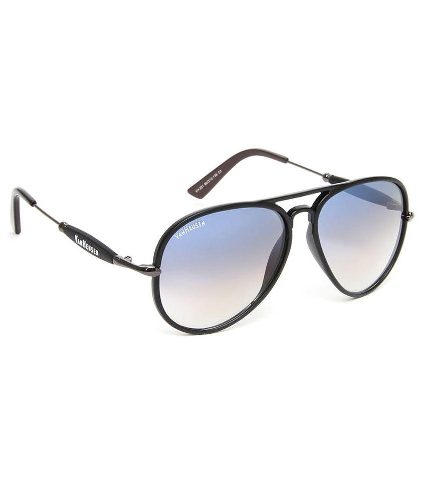 Van Heusen Vh251 C2 Medium Unisex Aviator Sunglasses