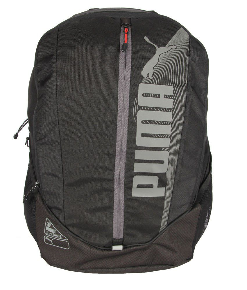 482a0c5ae Puma Black Polyester Backpack for Men - Buy Puma Black Polyester Backpack  for Men Online at Best Prices in India on Snapdeal