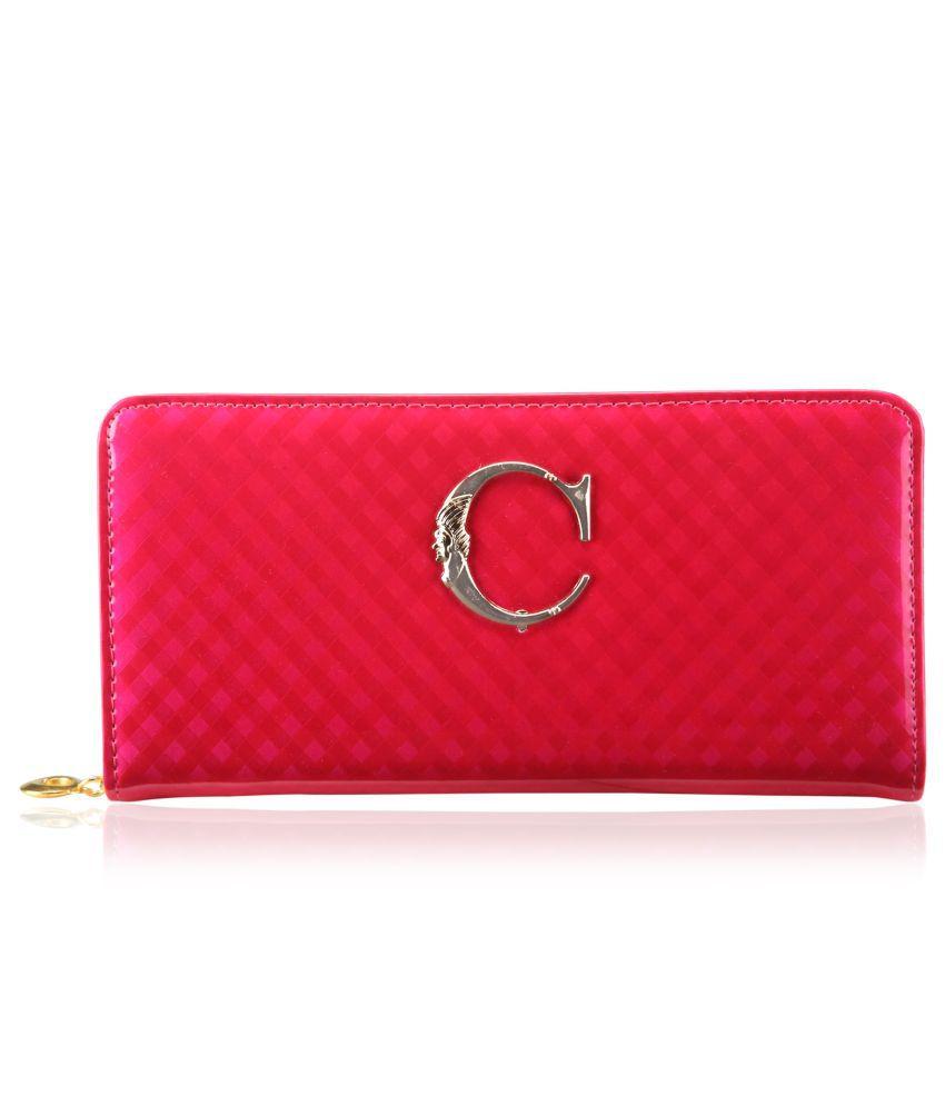 Dernier Cri Women Pink Casual Wallet