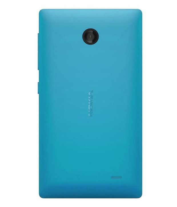 purchase cheap d425a 76f93 Nokia Original Back Panel For Nokia X - Cyan