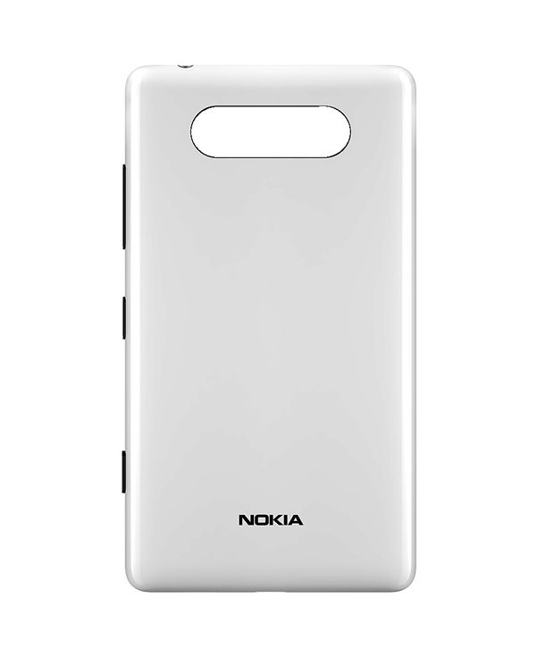 quality design 5305a 4aeb0 Nokia Original Back Panel For Nokia Lumia 820 - White