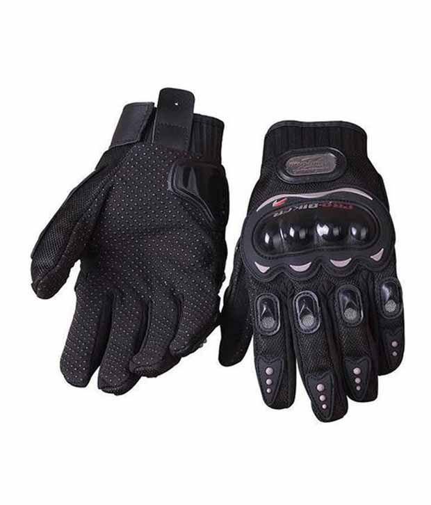 Probiker Black Gloves (Size- XL)