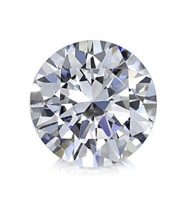 Saloni Jewels Round Brilliant Cut 0.6 Ct Diamond - 40 Pcs