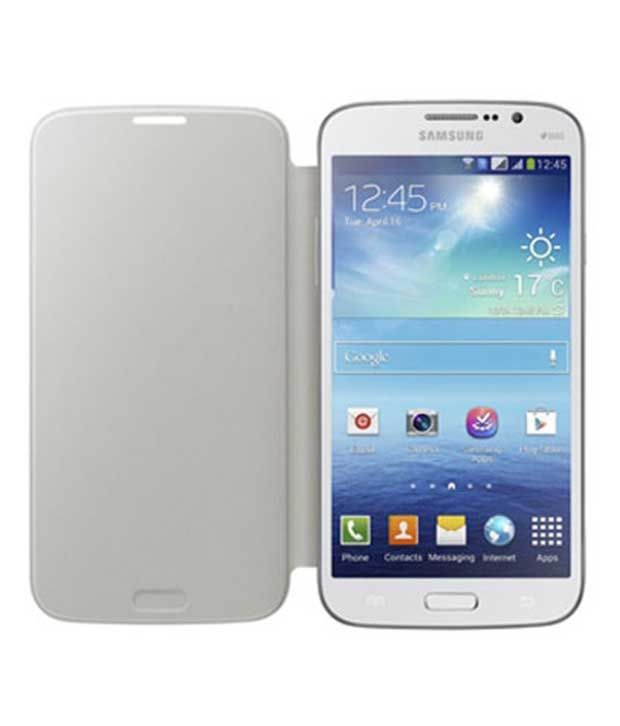 reputable site c23c9 67373 Samsung Flip Cover for Samsung Galaxy Mega 5.8 (white)