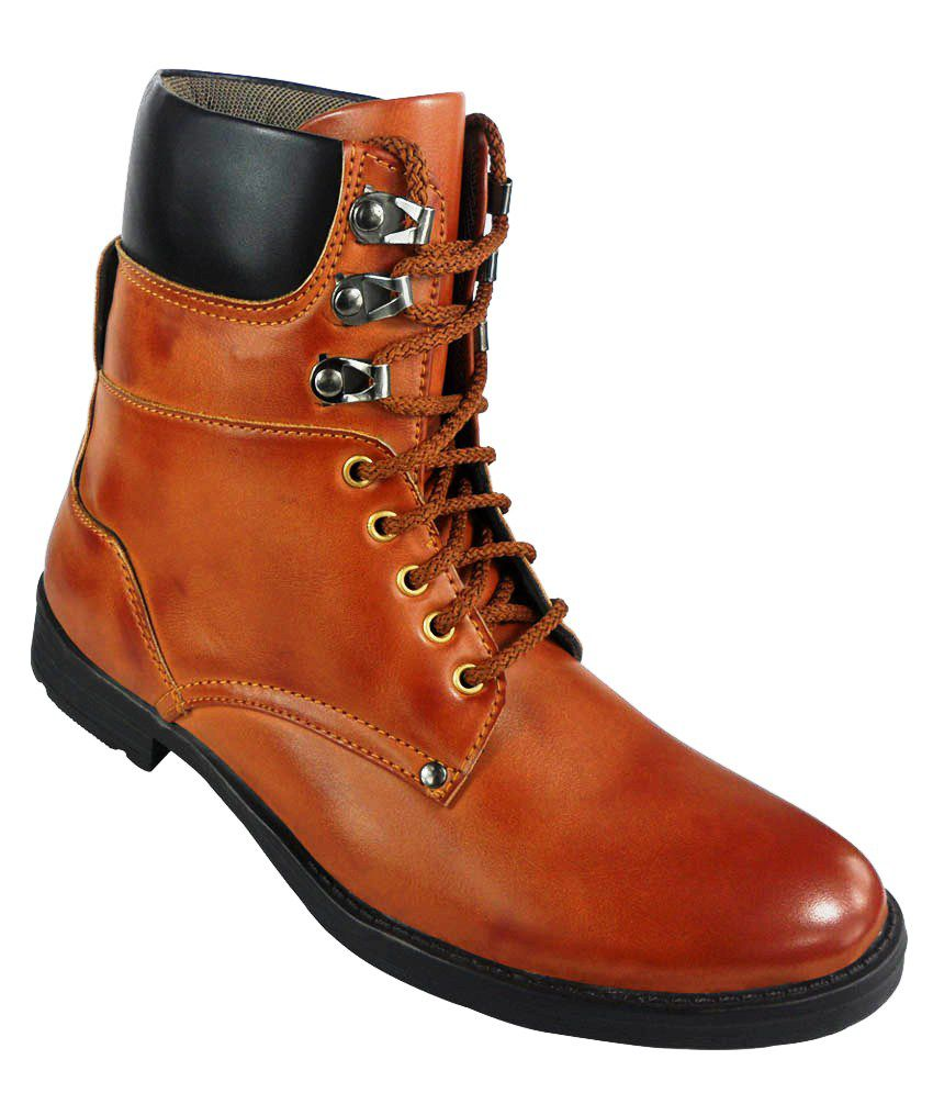 elvace synthetic leather dress boots buy elvace