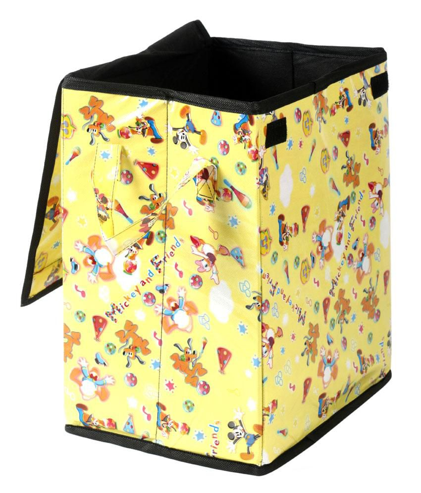 Home Candy Disney Yellow Foldable Laundry Bag