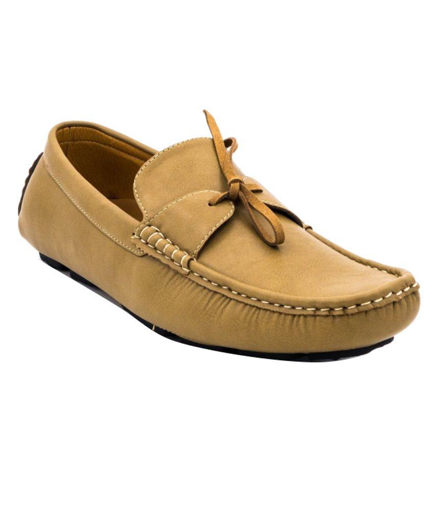 Belle Gambe Beige Loafers