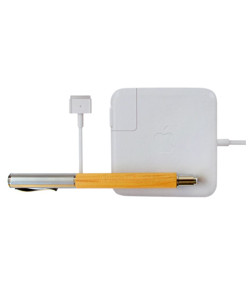 Apple Genuine Original Magsafe 2 85w Power Adapter 20v 4.25a A1424 with Clean India Wooden Pen