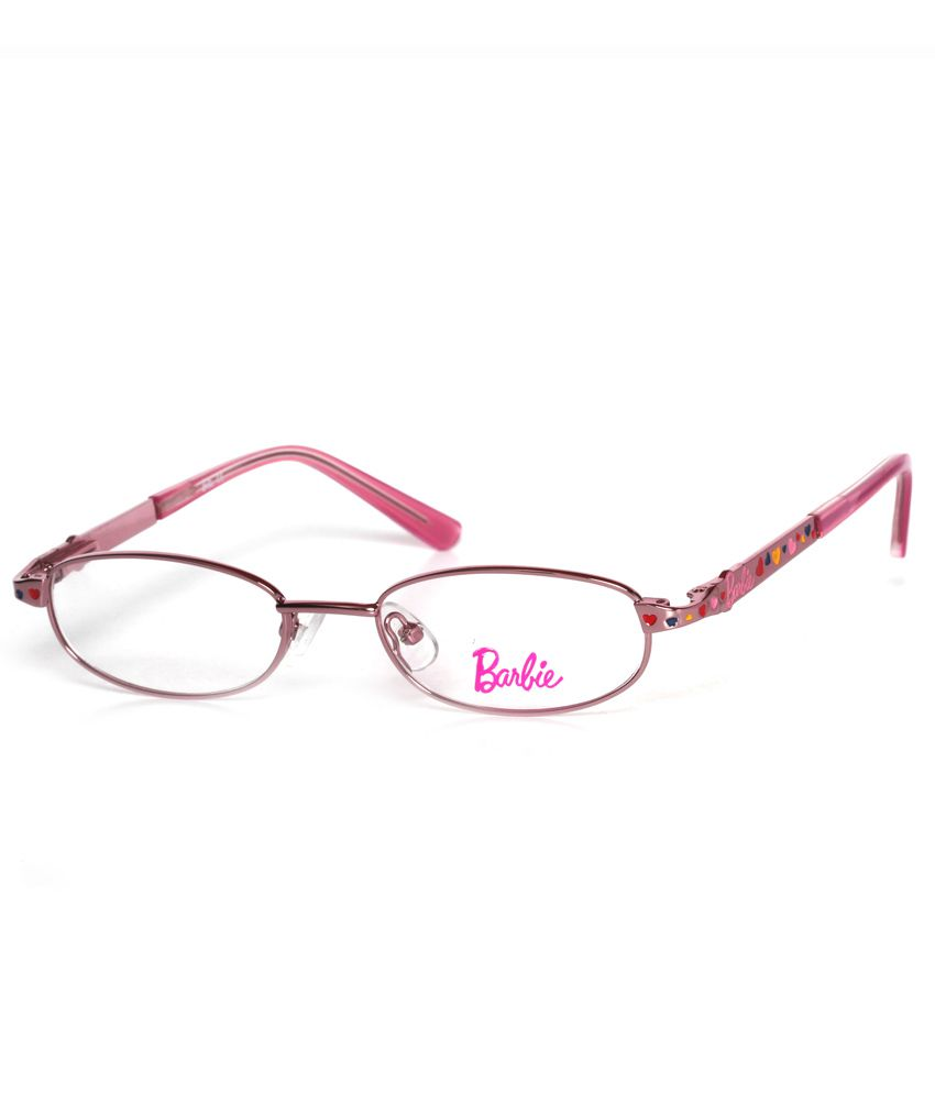 364d78233c Buy Barbie Pink Full Rim Non Metal Frame Eye Glasses for Kids at Best  Prices in India - Snapdeal