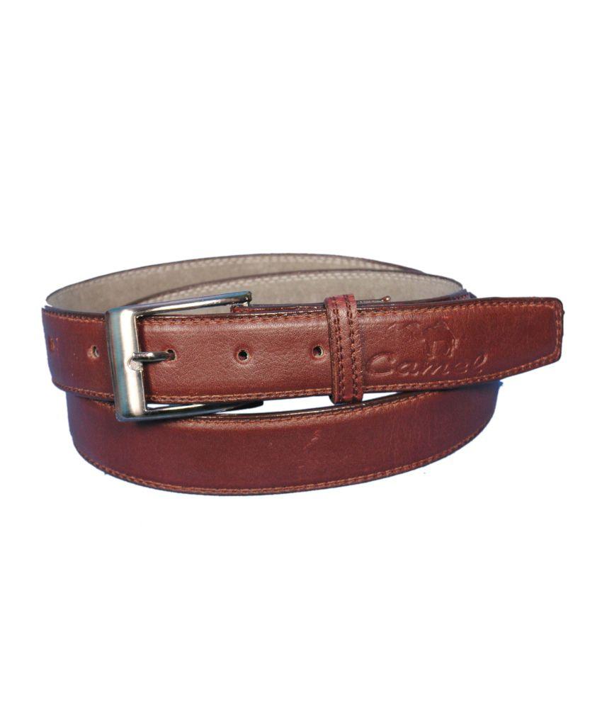 runker s camel light brown belt for buy at low
