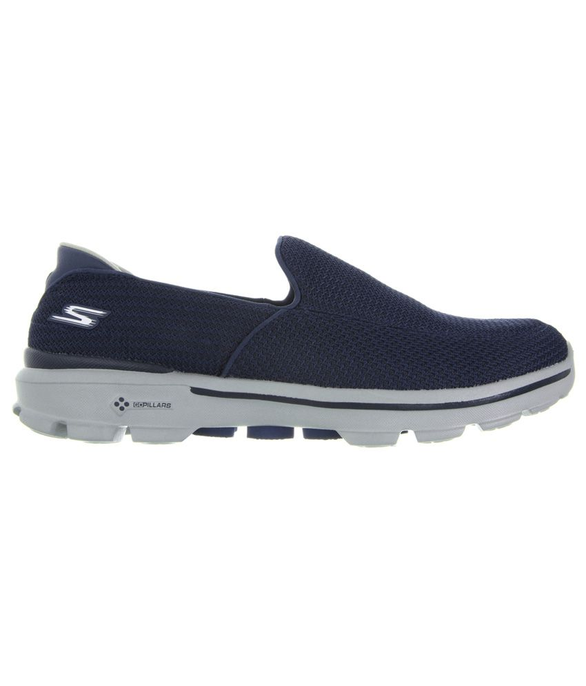 c16617af835 Skechers Go Walk 3 Navy Running Sport Shoes - Buy Skechers Go Walk 3 ...