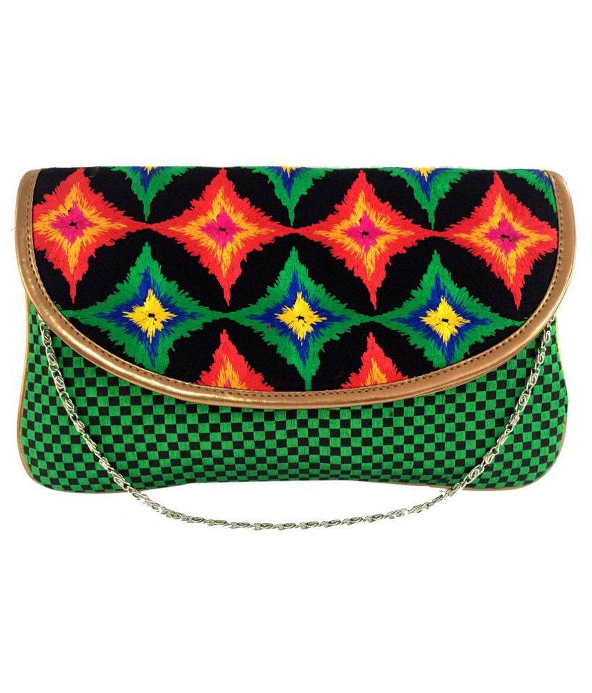 Craftstages SB144 Green Sling Bags