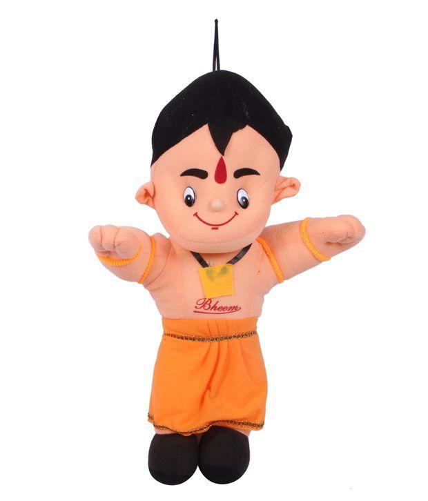 joy chota bheem cartoon figure 30 cm buy joy chota bheem cartoon