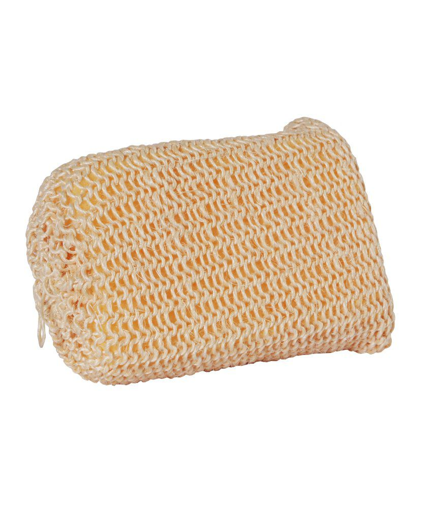 Martini Massage Natural Massage Sponge Covered With Sisal For All skin types