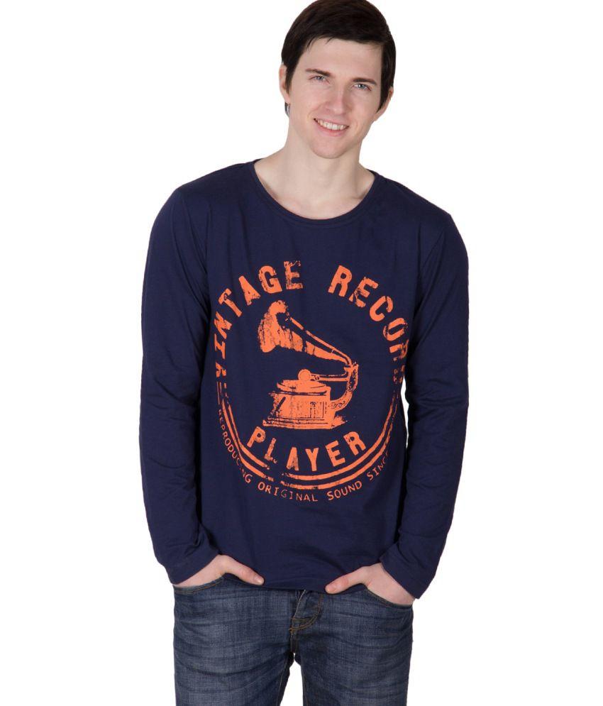 Rigo Blue Cotton T Shirt