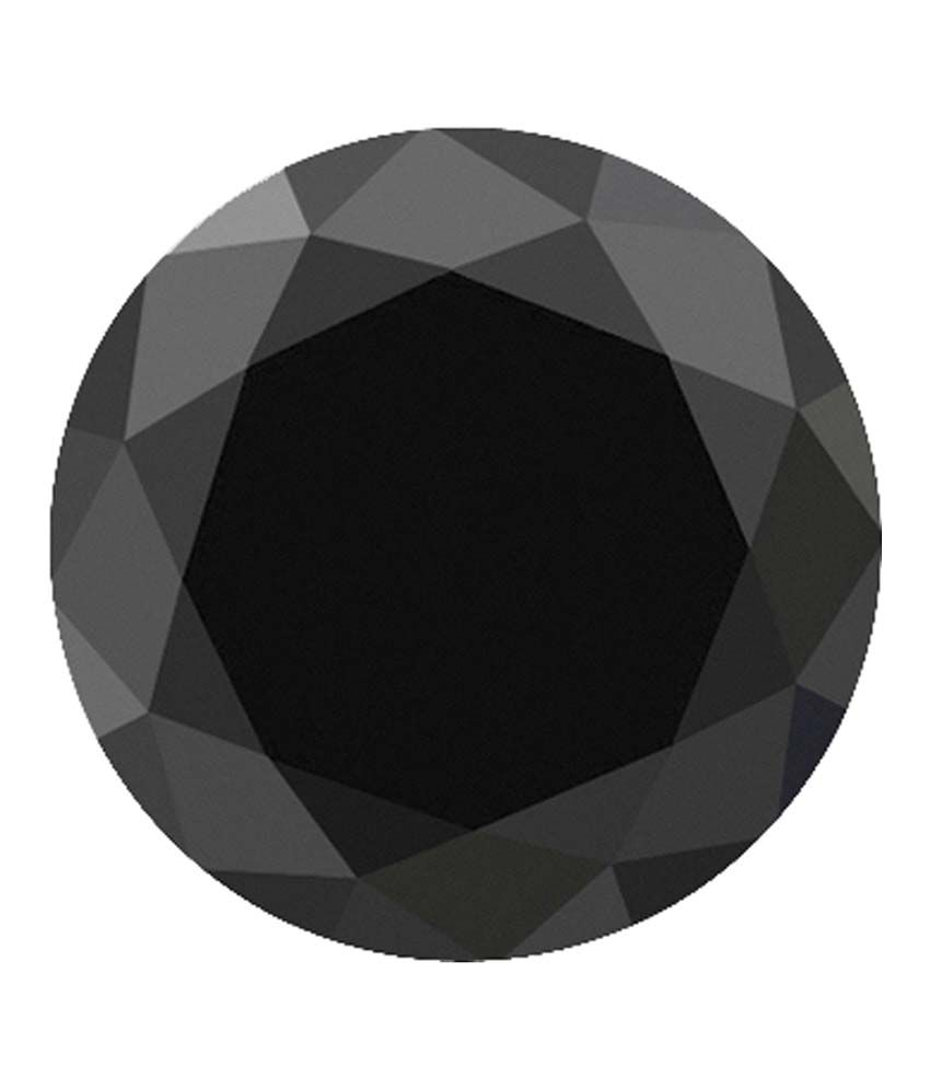 Saloni Jewels 0.40 Ct Round Brilliant Cut Natural Treated Black Diamond - Set Of 20