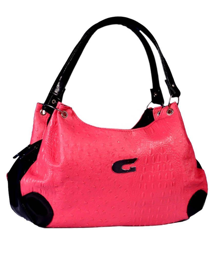 Aahana Pink Shoulder Bag