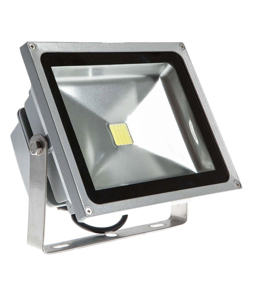 Led Flood Light India: Flood Light White 50w Glass Led: Buy Flood Light White 50w